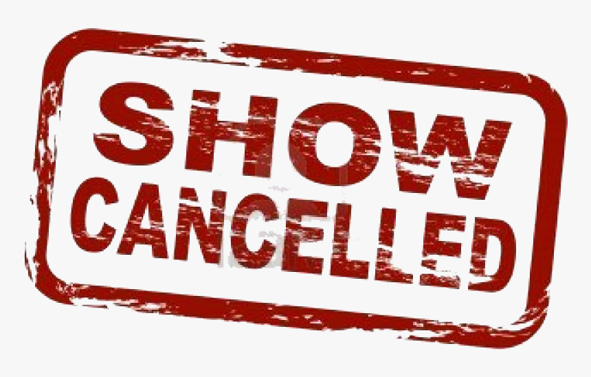 496 4969785 event cancelled canceled png transparent png